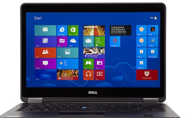 Laptop Dell latitude E7440 cpu core i7 4600